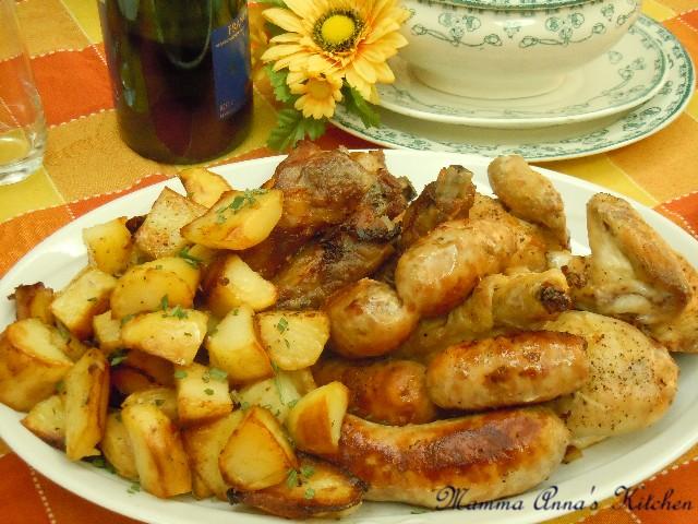 arrosto misto al forno con patate