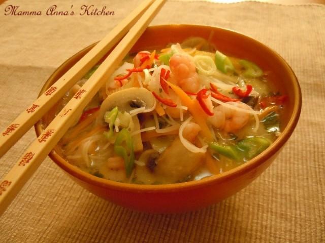 Zuppe e minestre mamma anna 39 s kitchen for Ricette asiatiche